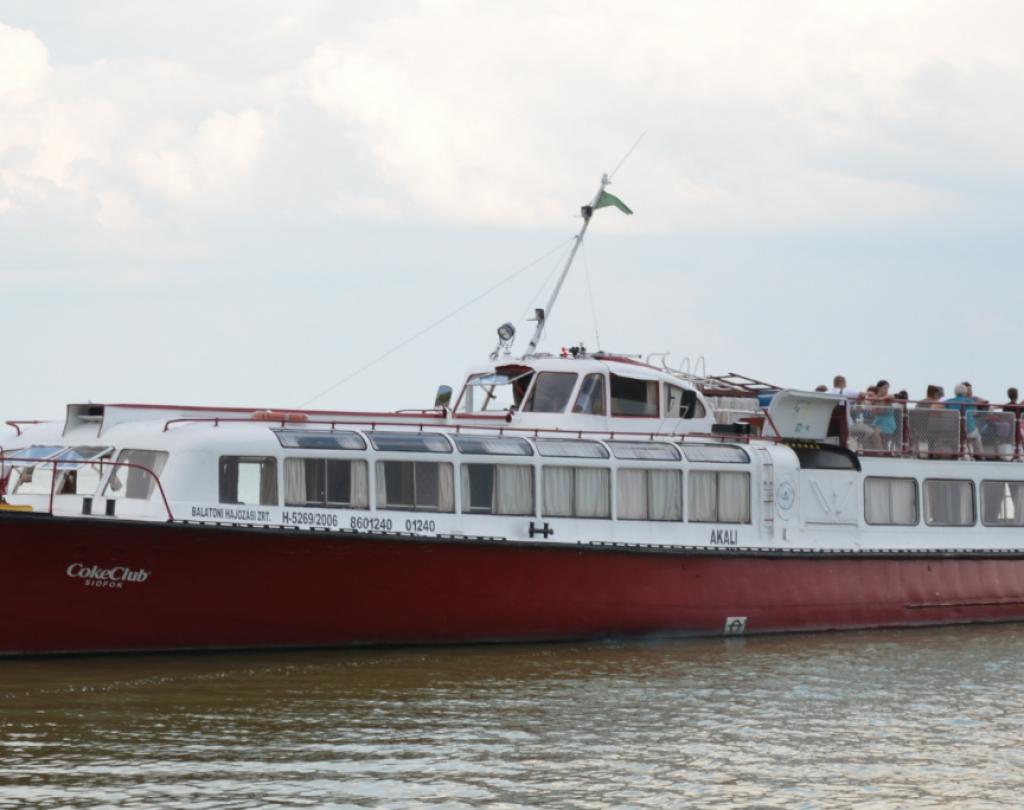 Siófok hajózás 2020